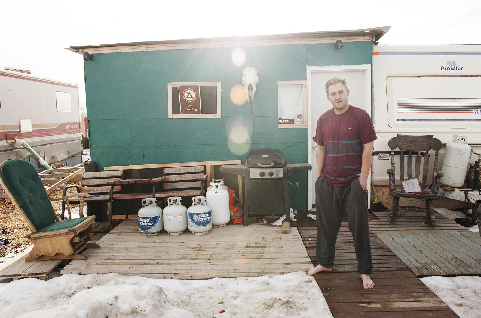 Inside Energy Meet The Men Who Study Man Camps Wyoming