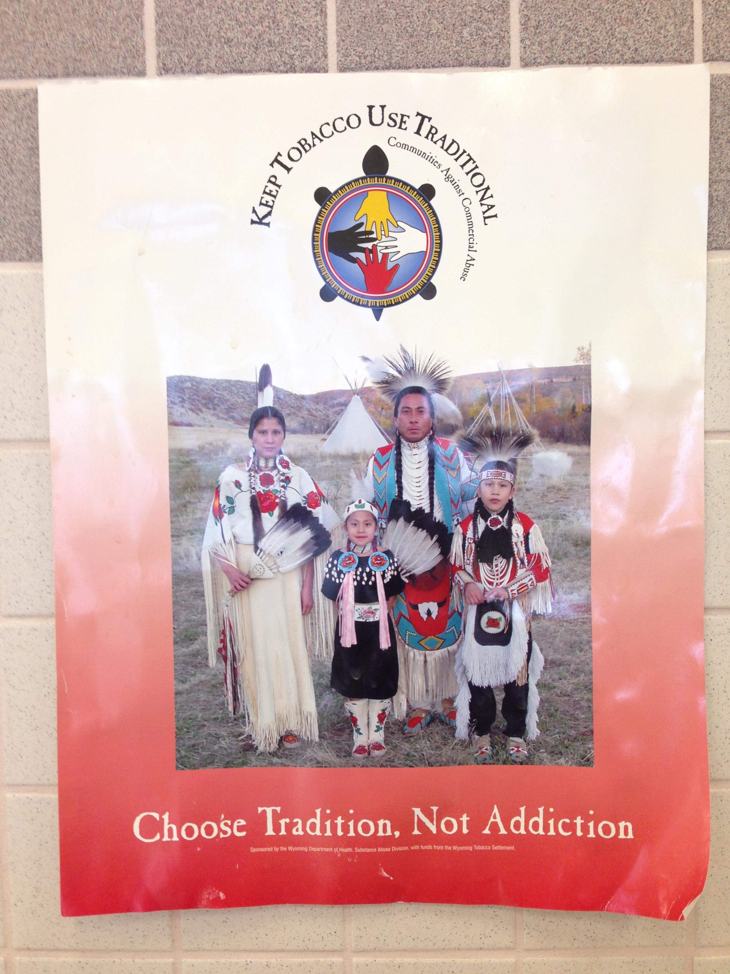 Tobacco Prevention Campaigns For Native Americans Tell Kids To Keep