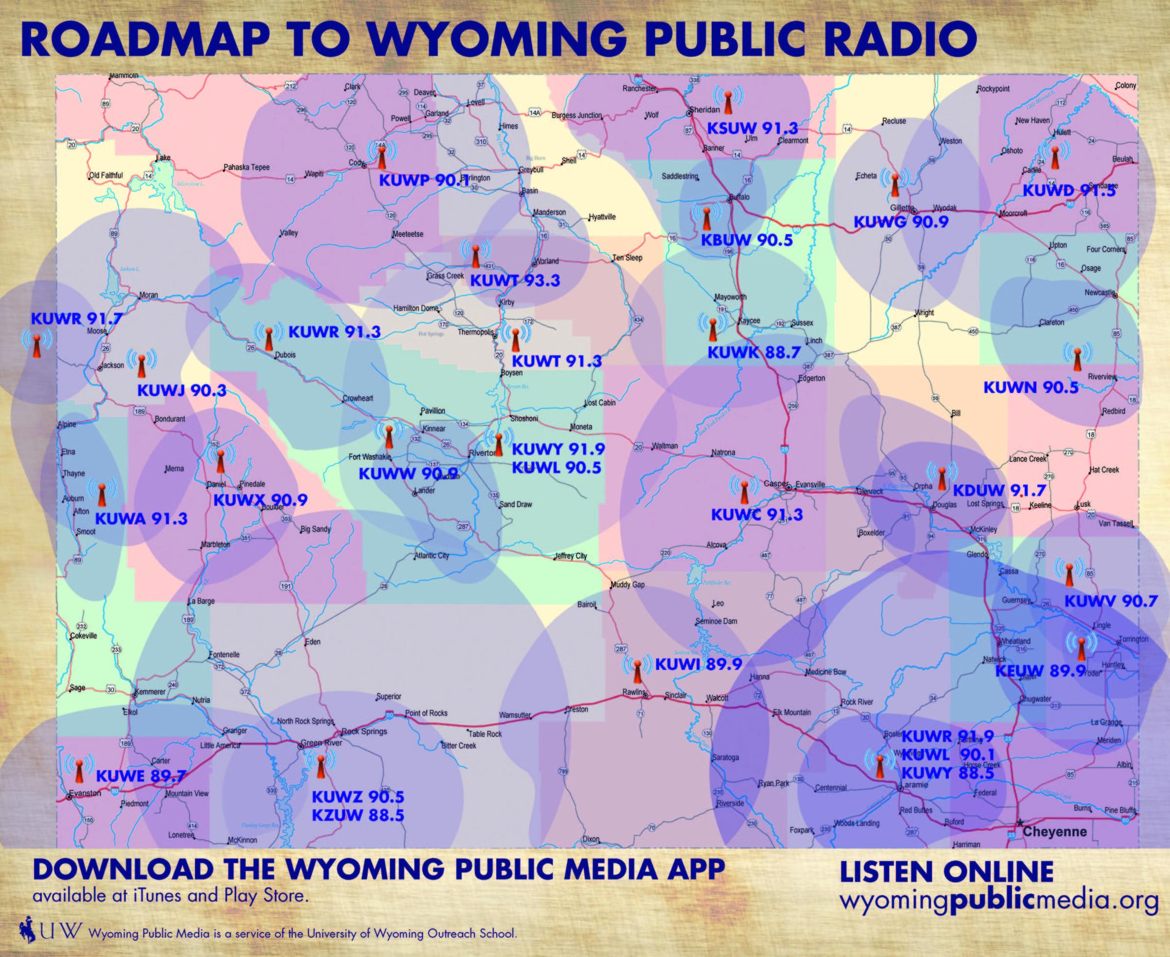 Roadmap To Wyoming Public Radio | Wyoming Public Media