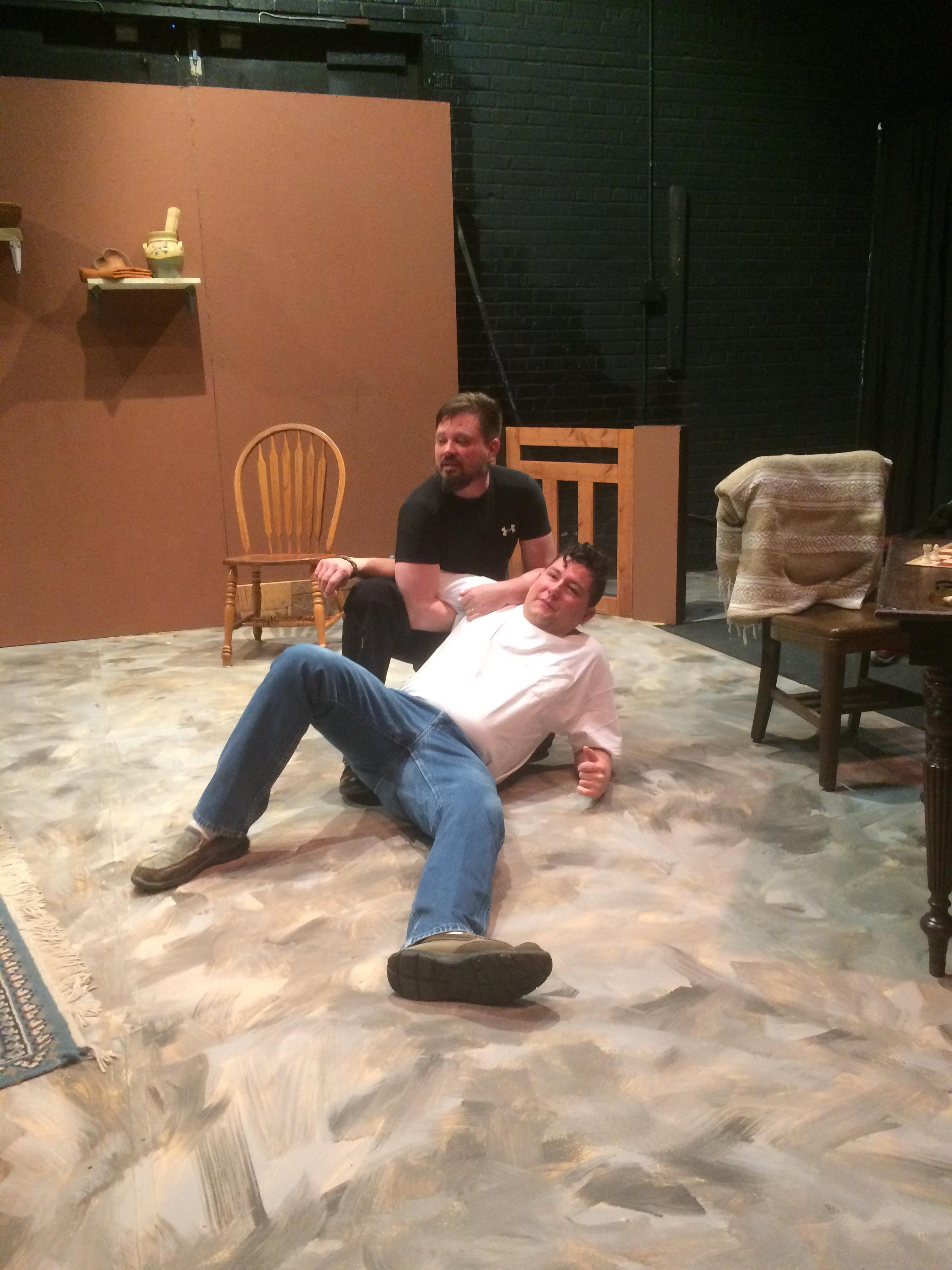 Fight Scenes Are Like Learning A Dance You Learn It Move: Lakota Playwright Uses Humor To Challenge Issues Of Racial