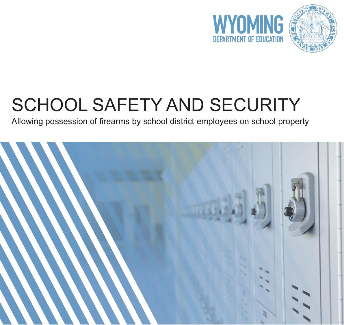 School Shooting Wyoming: WDE Releases Guidance On Guns In Schools