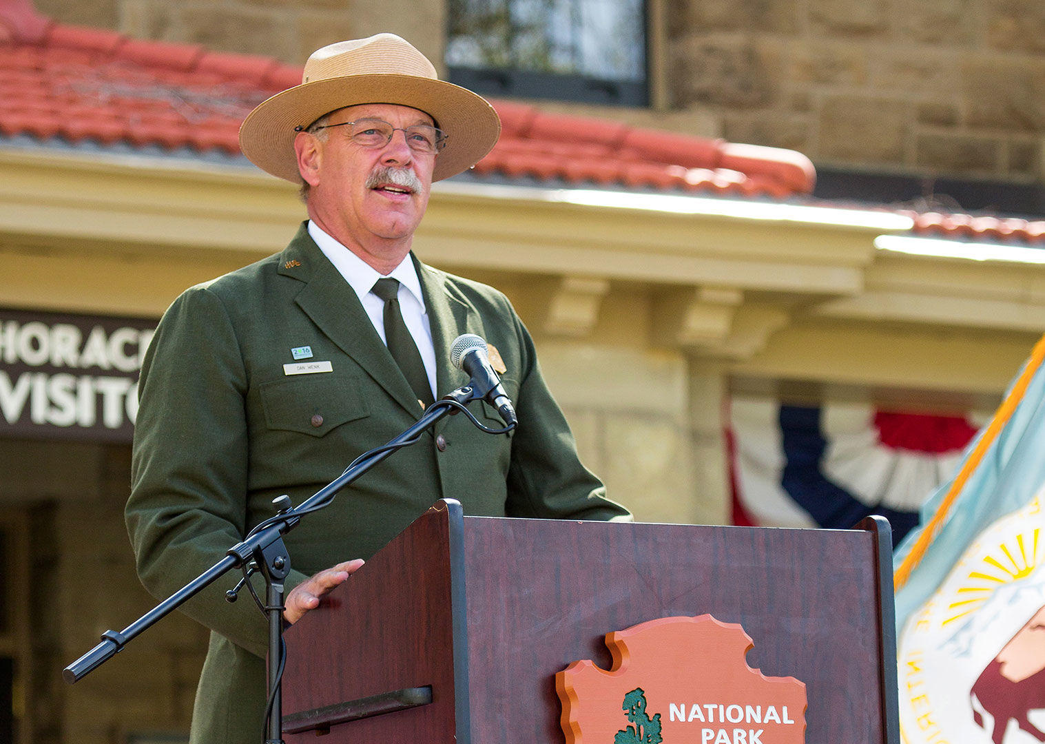 Yellowstone chief says he is ousted after dispute with Trump administration