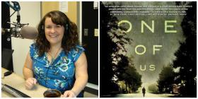 One of Us book cover & reviewer