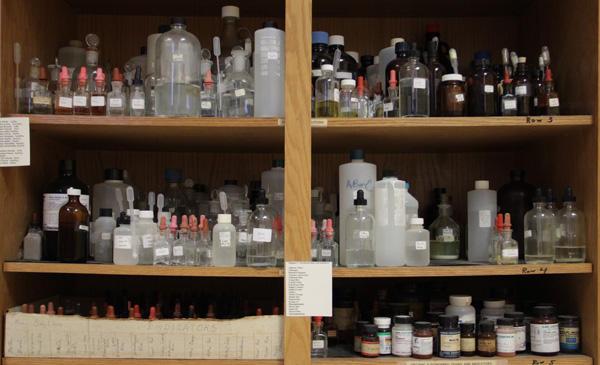 Chemistry Shelves
