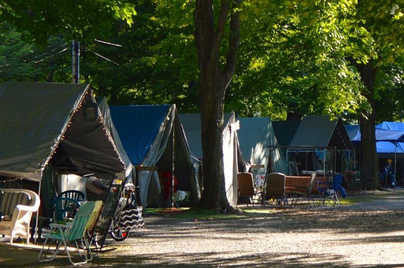 Grange Fair tents