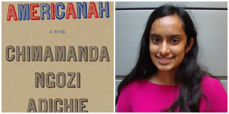 Americanah Book Cover and Reviewer Photo
