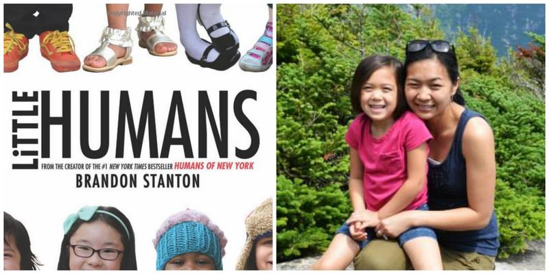 Little Humans book cover, Kate Lao Shaffner and her daughter Anna