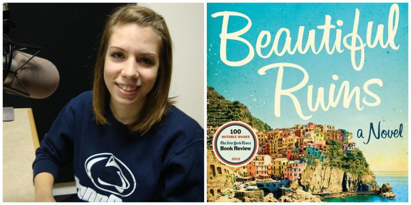 """Reviewer Carter Clabaugh and the cover of """"Beautiful Ruins"""""""