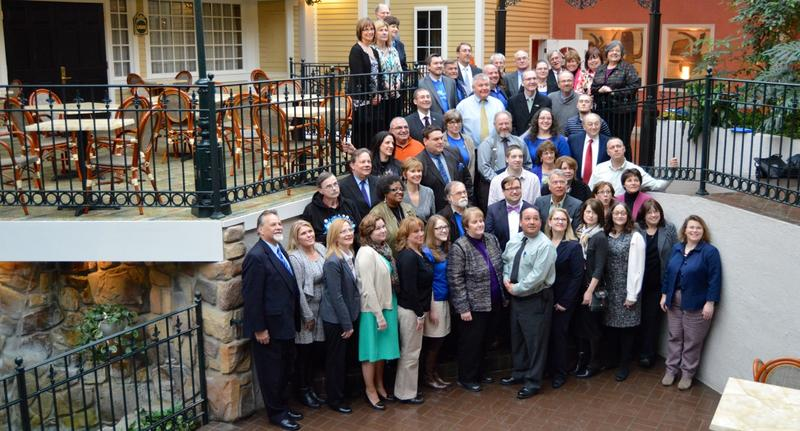 group shot of 2015 Blueprint Communities graduates