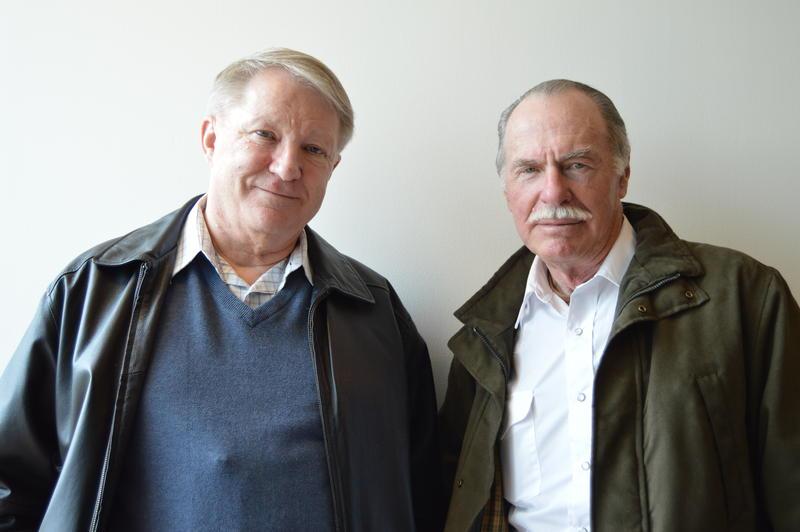 Lewis Watt and Greg Johnson.