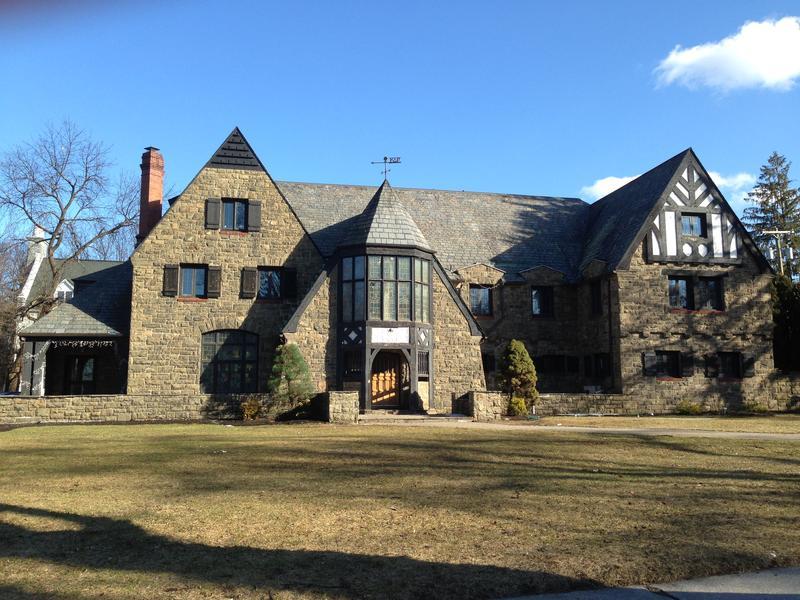 The Kappa Delta Rho fraternity house