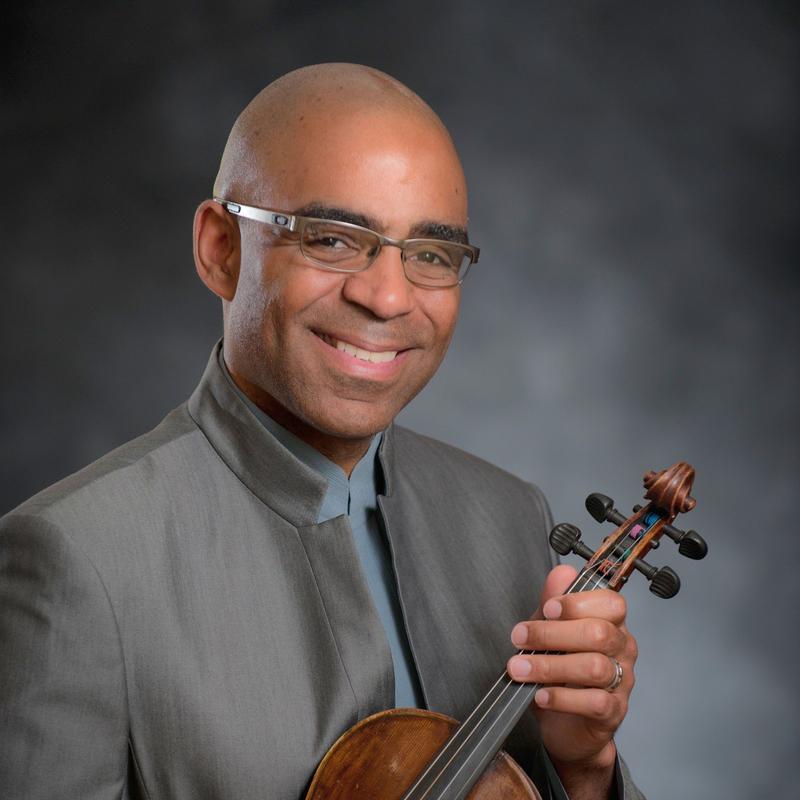 Violinist Aaron Dworkin