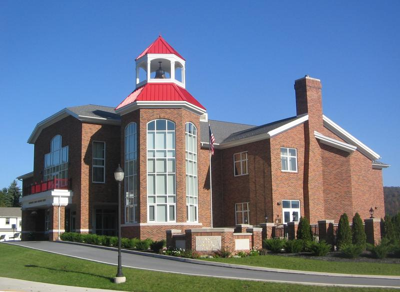 Durrwachter Alumni Conference Center building