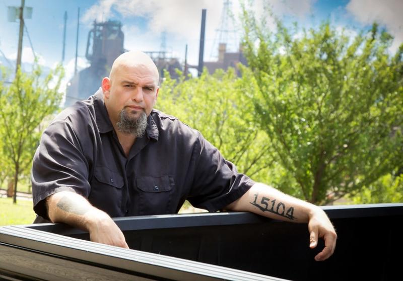 John Fetterman is making a run for the U.S. Senate, tattoos and all (Photo courtesy of Fetterman for Senate)