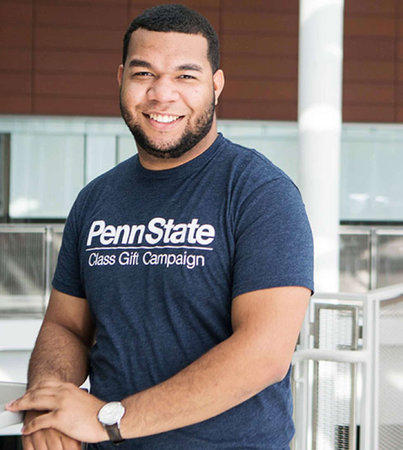 Ramon Guzman, Jr., executive director, Penn State 2016 Class Gift Campaign.