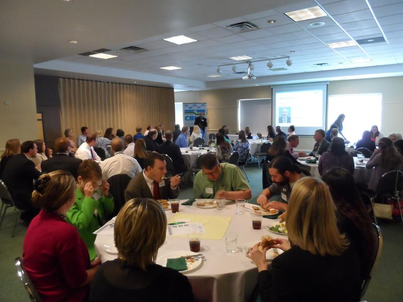 CBICC Connect hosted a luncheon on Friday, May 20 to release the findings from their survey of young professionals.