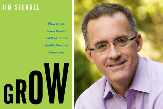 "Jim Stengel is president and CEO of The Jim Stengel Company, and author of ""Grow:  How Ideals Power Growth and Profit at the World's Greatest Companies."""