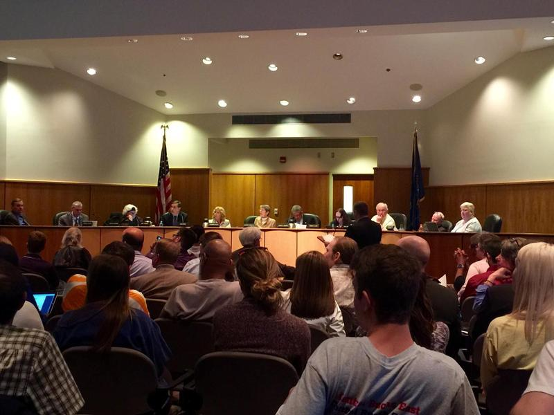 The State College borough council at their meeting on May 2, 2016.
