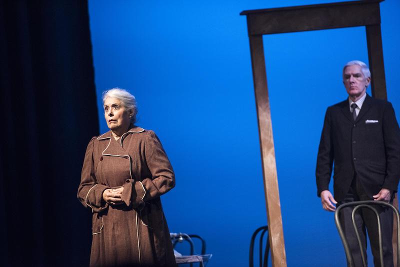 """Melissa Hart as Fräulein Schneider and Tom McClary as Herr Schultz in """"Cabaret."""""""