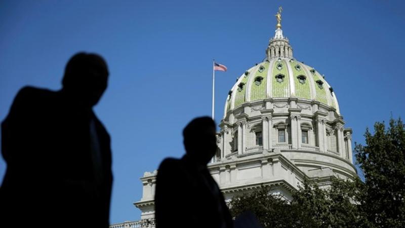 Pennsylvania State Capitol in Harrisburg