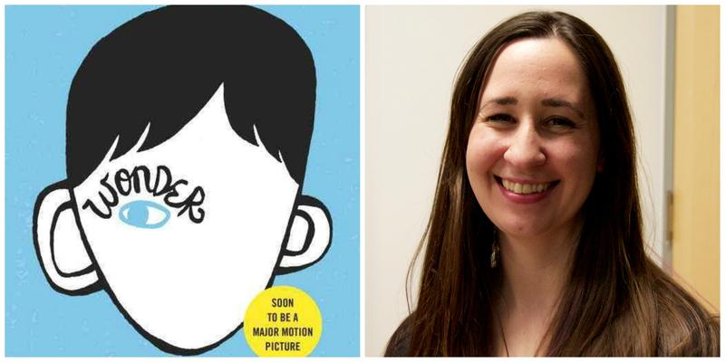 Wonder book cover and essayist Laura Sarge
