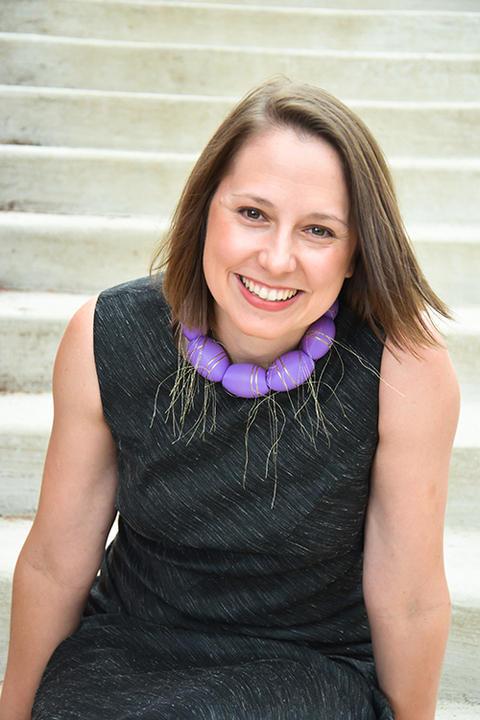 Rebecca Strzelec, Professor of Visual Arts at Penn State-Altoona, and the 2016-2017 Penn State Laureate