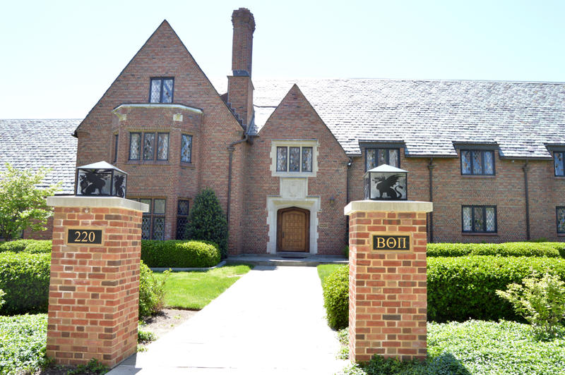 Beta Theta Pi fraternity building