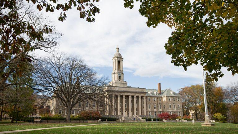 Old Main, an administrative building and landmark of Penn State's University Park campus.