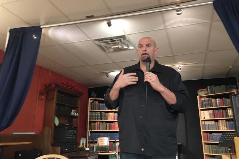 John Fetterman speaking