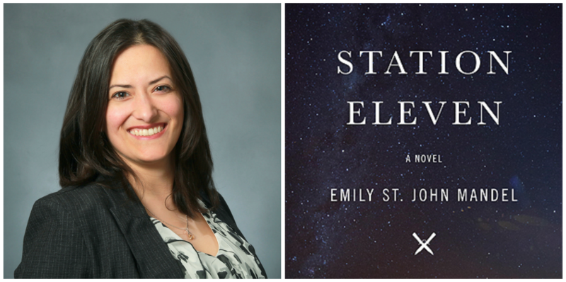 "Adison Godfrey reviews ""Station Eleven"" by Emily St. John Mandel."