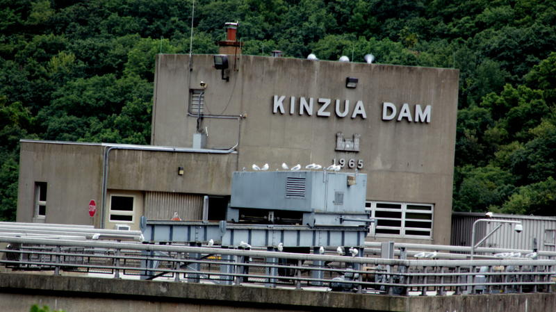 The Kinzua Dam in Warren County, PA.