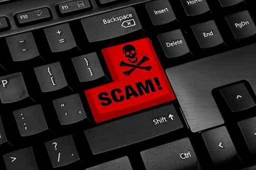 cyberscam keyboard
