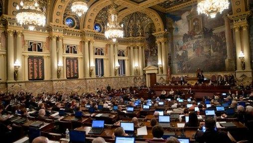 Pennsylvania has the largest full-time legislature in the country.
