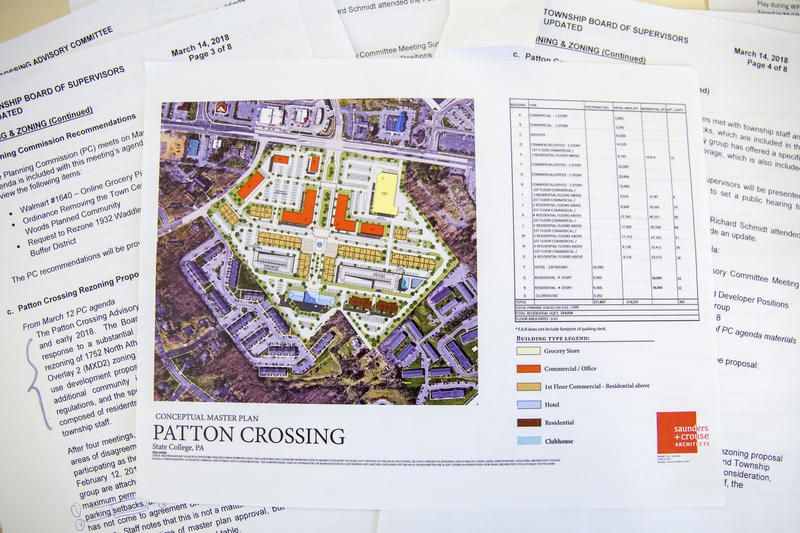 Developers for the Patton Crossing project first proposed a master plan last year. The mixed-use plan drew much opposition from the neighborhood.