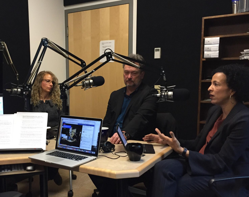 Faculty discussion on radio