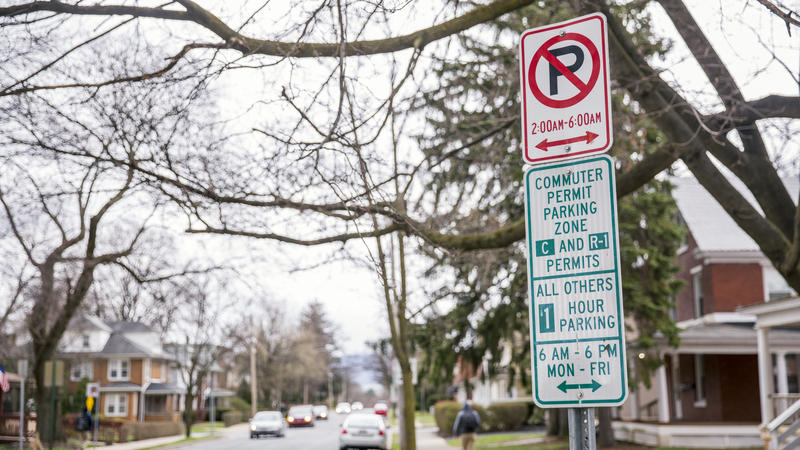 State College's parking ordinance restricts street parking from 2 a.m. to 6 a.m., but the borough informally waive that rule for Penn State football home games and the Arts Fest. That's expected to change this fall.