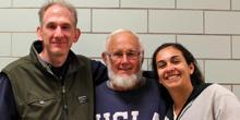 Jim Zubler, Nicholas Brink and Andrea Ferich.