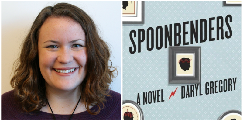 "Emily Reddy reviews ""Spoonbenders"" by Daryl Gregory."