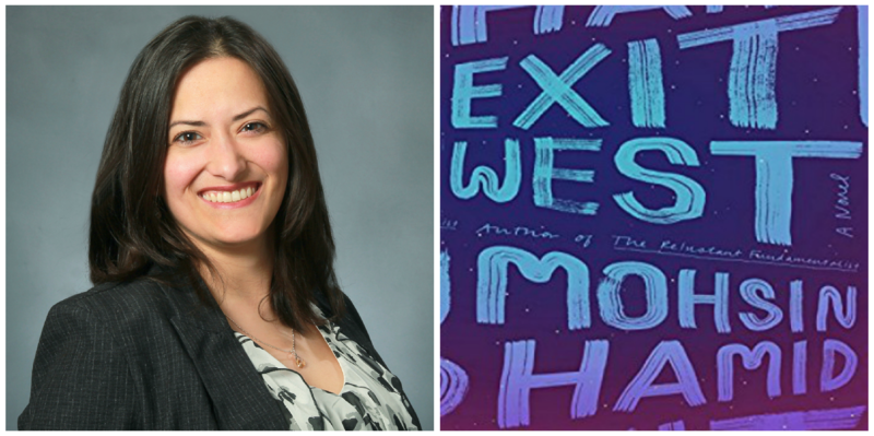 "Adison Godfrey reviews ""Exit West"" by Mohsin Hamid."