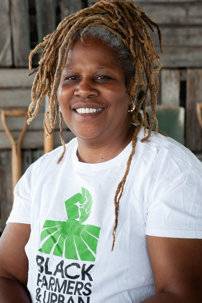 Community activist and Rise & Root Farm creator Karen Washington.