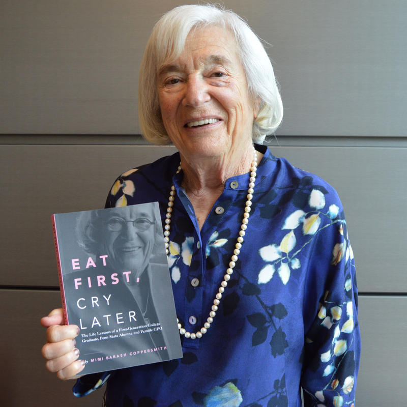 """Eat First, Cry Later"" author Mimi Brash Coppersmith."