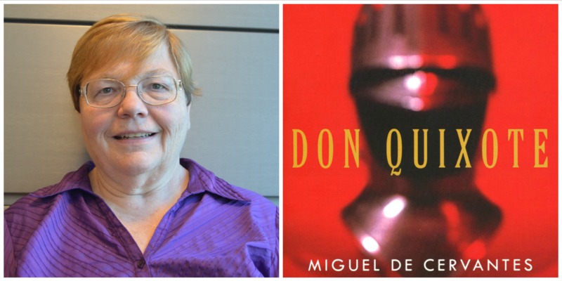 "Essayist Jackie Esposito reviews ""Don Quixote"" by Miguel de Cervantes."