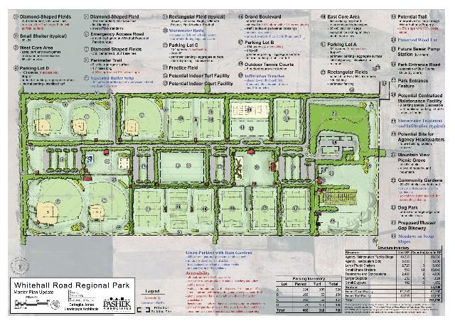 park plan drawing