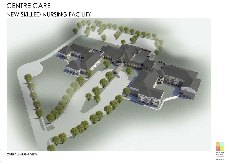 Rendering of new nursing home