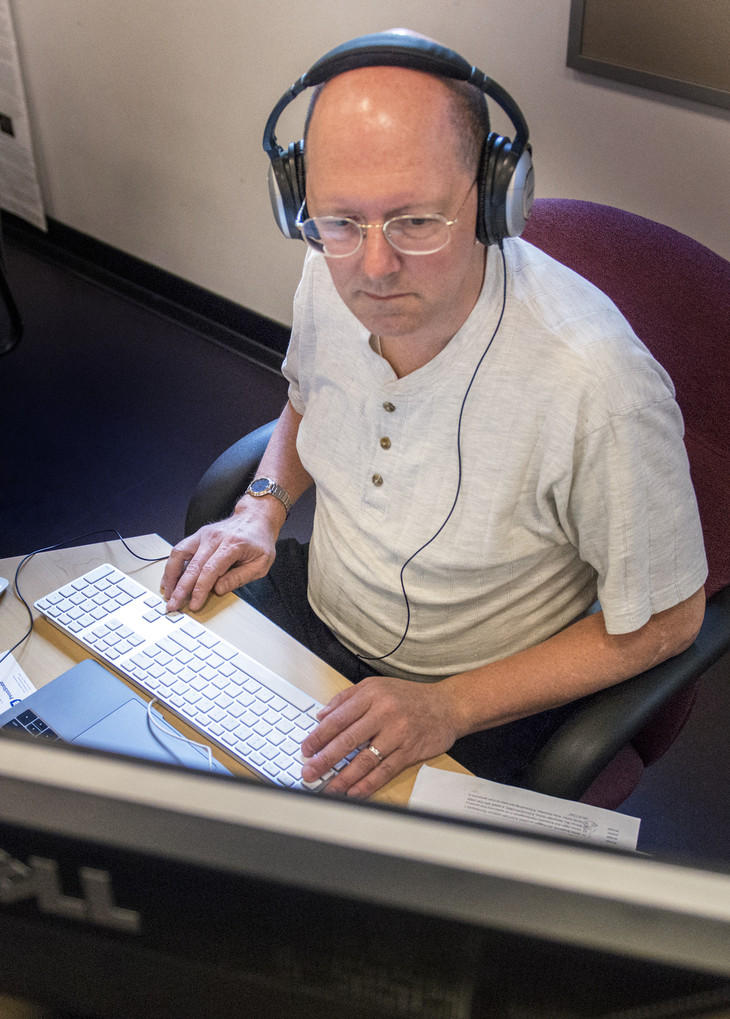 Penn State professor Mark Ballora turns datasets into sound and music.