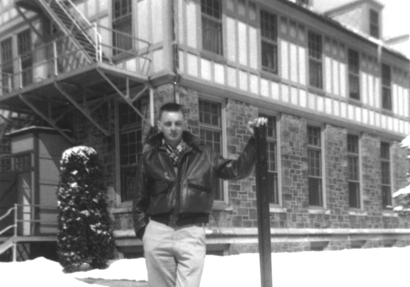 Chuck Felton at the TB sanatorium in Cresson, Pa.