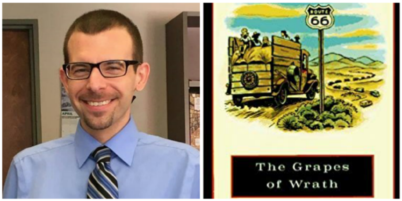 "Brady Clemens reviews ""The Grapes of Wrath"" by John Steinbeck."