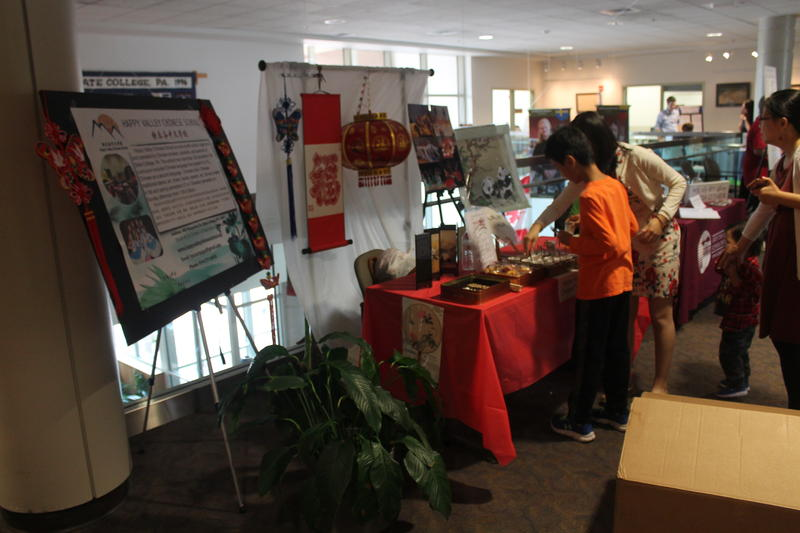 A variety of cultural organizations offer food samples and more information about their group.