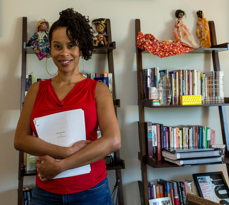 Recent MacArthur Fellowship award-winner Dominique Morisseau.