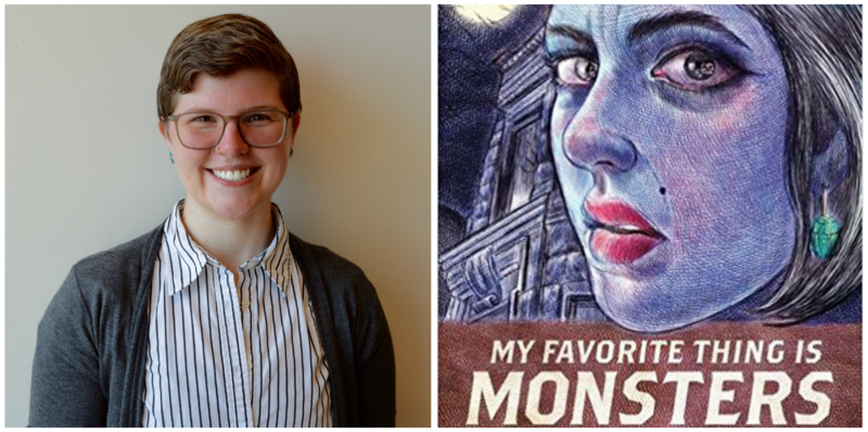 "Lars Stoltzfus-Brown reviews ""My Favorite Thing is Monsters"" by Emil Ferris."